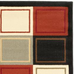 Safavieh Porcello Modern Abstract Multicolored Rug (2' x 3'7) - Thumbnail 1