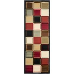 Safavieh Porcello Modern Abstract Multicolored Rug (2'4 x 9')