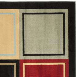 Safavieh Porcello Modern Abstract Multicolored Rug (7' Square) - Thumbnail 1