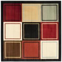 Safavieh Porcello Modern Colorblock Multicolored Rug - 7' x 7' Square