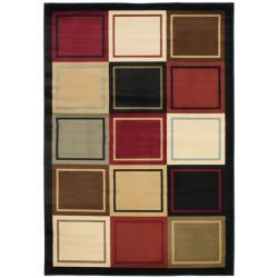 Safavieh Porcello Modern Colorblock Multicolored Rug - 8' x 11'2 - Thumbnail 0
