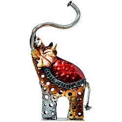 Red Vanilla Deco Elephant (Set of 2)