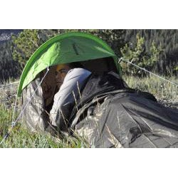 The Backside T-7 Black 1-person Bivy Camping Tent - Thumbnail 2