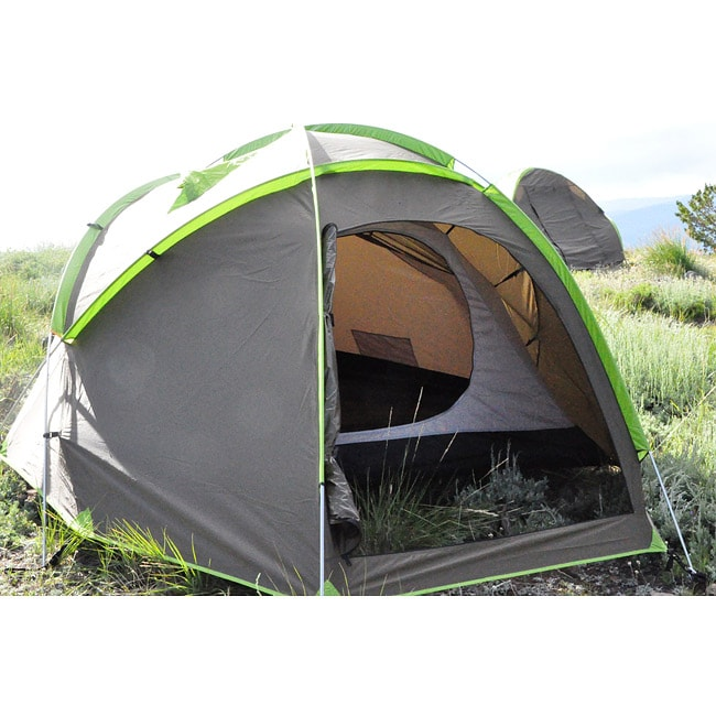 The Backside T-9 Grey 3-person Convertible Camping Tent