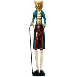 Red Vanilla Decorative 24.75-inch Leopard Figurine|https://ak1.ostkcdn.com/images/products/6523671/Red-Vanilla-Decorative-24.75-inch-Leopard-Figurine-P14109045.jpg?impolicy=medium