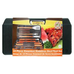 Mr. BBQ 18-piece Gourmet Stainless Steel Tool Set
