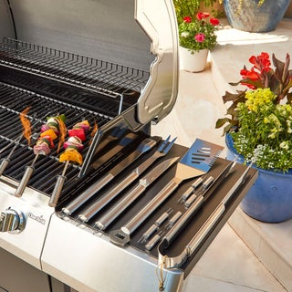 Mr. BBQ 18-piece Platinum Prestige Stainless Steel Tool Set
