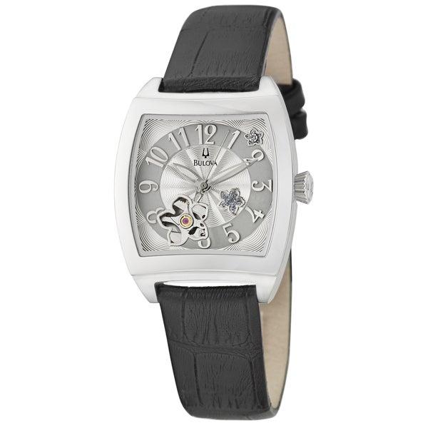 Bulova Women's 'BVA Series' Stainless Steel Automatic Watch