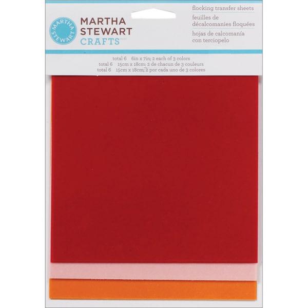 Martha Stewart Flowerbed Flock Sheets (Pack of 6)