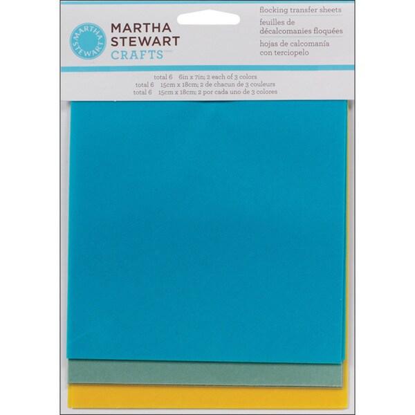 Martha Stewart Seaside Flock Sheets (Pack of 6)