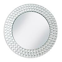 "ChargeIt! by Jay 13-inch Mirror Charger Plate - 13""d"