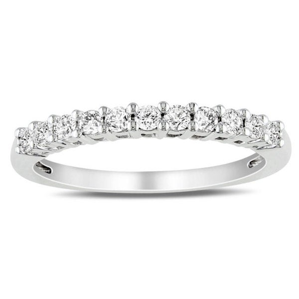 Miadora 14k Gold 1/3ct TDW Certified Diamond Ring (G-H, SI1-SI2)