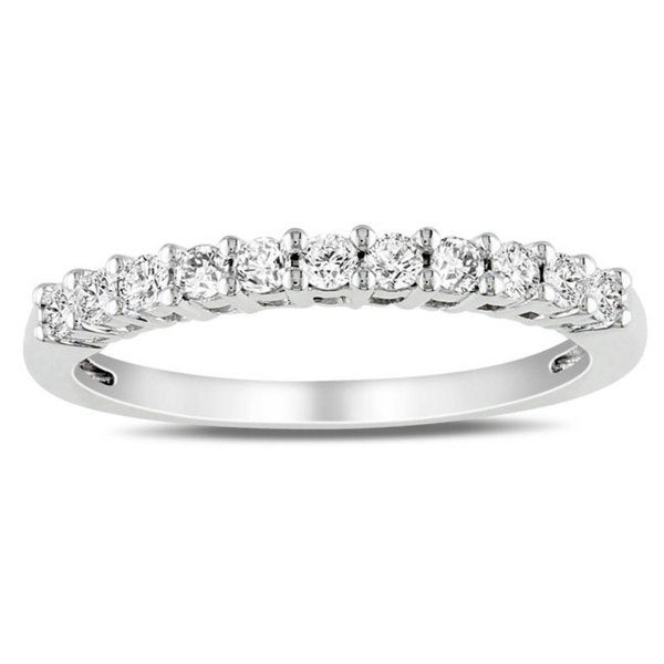 Miadora 14k Gold 1/3ct TDW Certified Diamond Ring
