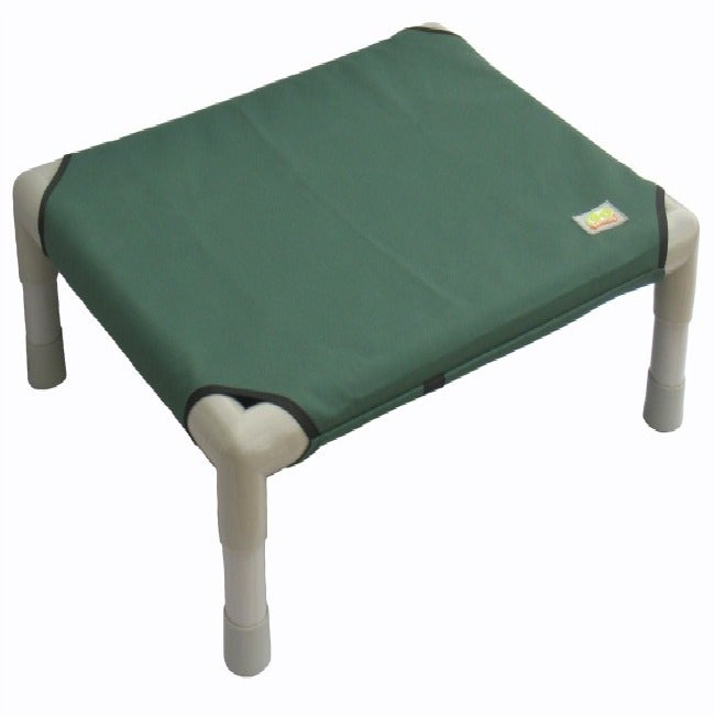 Indoor Outdoor 55 in Green PVC House Kennel Cozy Small Dog Puppy Cat Pet Cot Bed