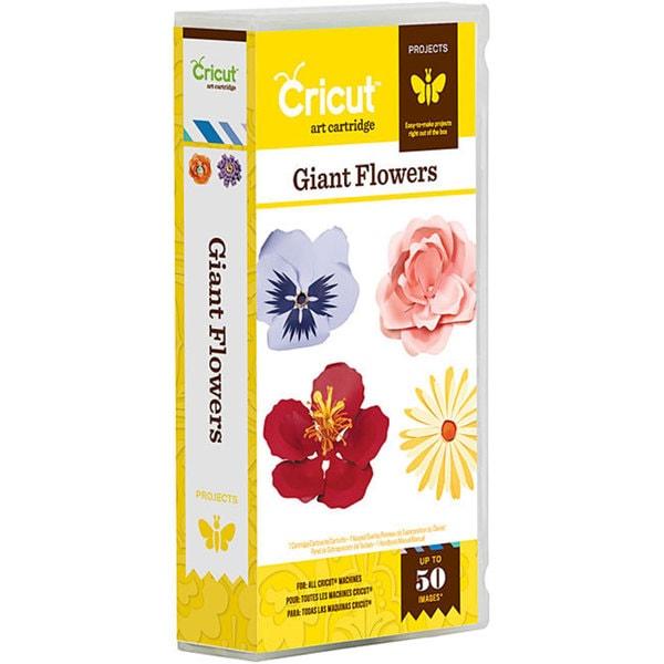 Cricut Projects Giant Flowers Cartridge