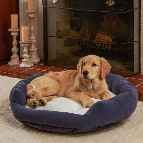 Happy Hounds Moxy Slate Donut Dog Bed