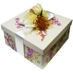 Art De' Moi Warm Vanilla Spa Bath and Body Care Package Gift Box Set - Thumbnail 1