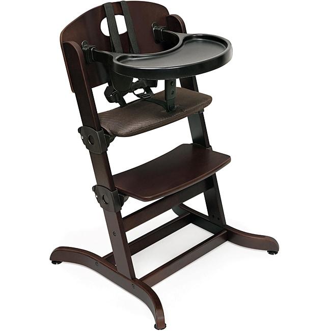 Badger Basket Evolve Espresso Convertible High Chair ...