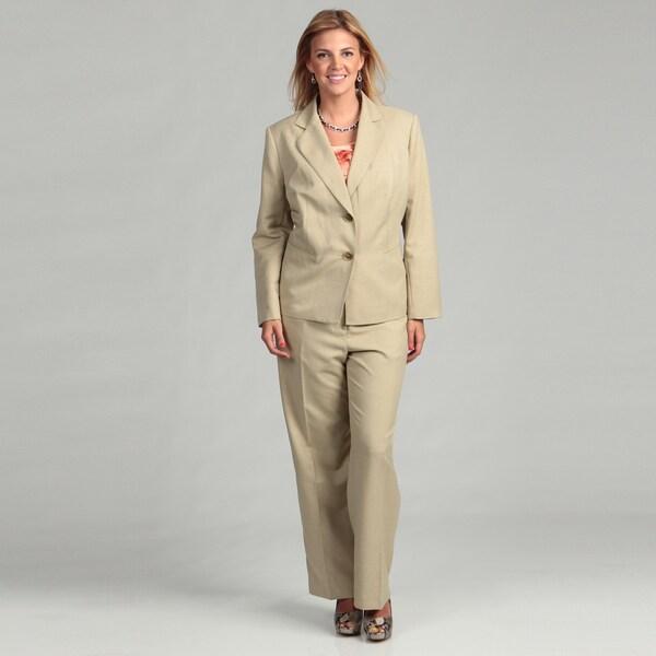 Evan Picone Women's Plus Size Pant Suit