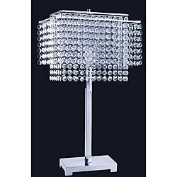 28-inch Crystal Strings Table Lamp - Thumbnail 0