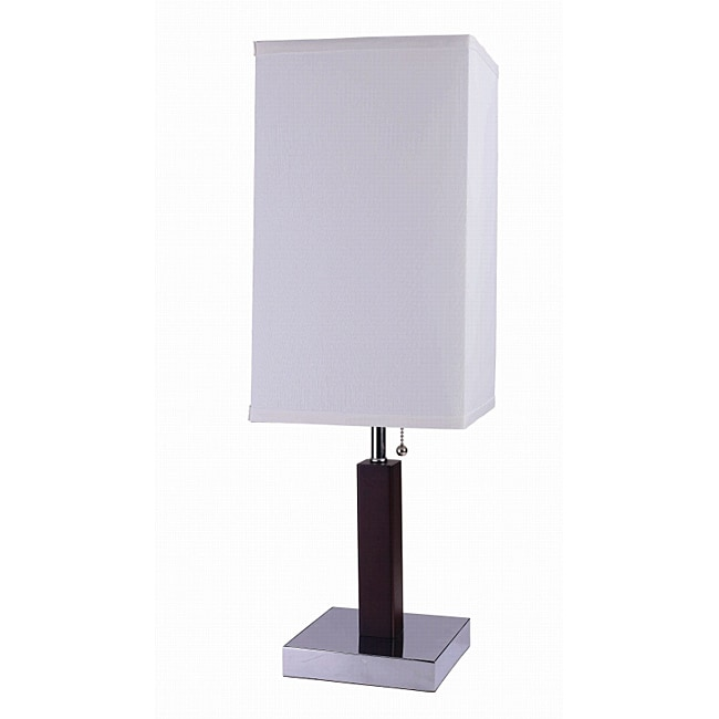 26-inch Square Retro Steel Table Lamp - Thumbnail 0