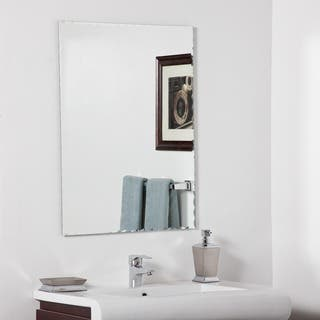 madeline modern bathroom mirror - Bathroom Sink And Mirror