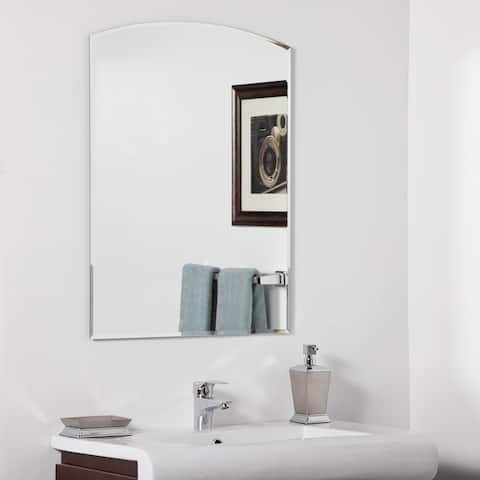 Katherine Modern Bathroom Mirror - Silver - 31.5Hx23.6Wx.5D