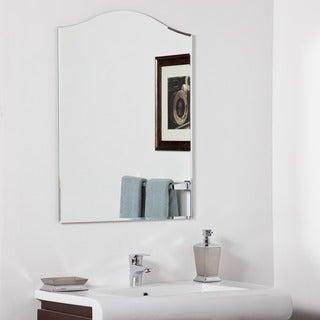 Amelia Modern Bathroom Mirror - Silver - 31.5Hx23.6Wx.5D