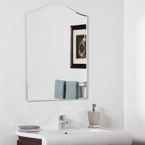 shop bathroom mirrors shop amelia modern bathroom mirror free shipping today 14395