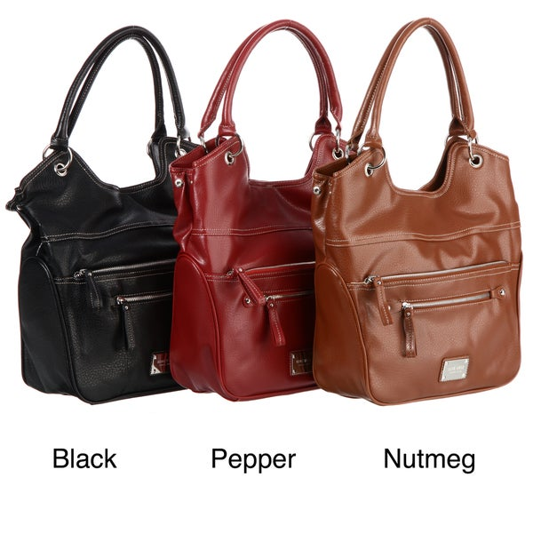 Nine West 'Heritage Pepperel' Large Shopper Tote Bag