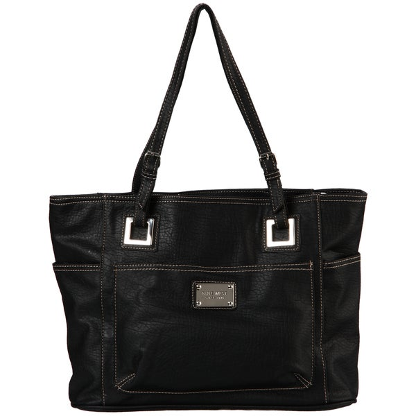 Nine West Heritage Black Large Tote