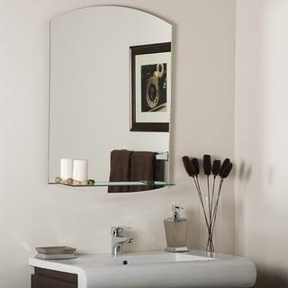 Vanessa Modern Bathroom Mirror - Silver - 31.5Hx23.6Wx5D