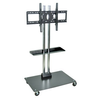 H. Wilson 60-inch Universal Flat Panel Stand with Shelf