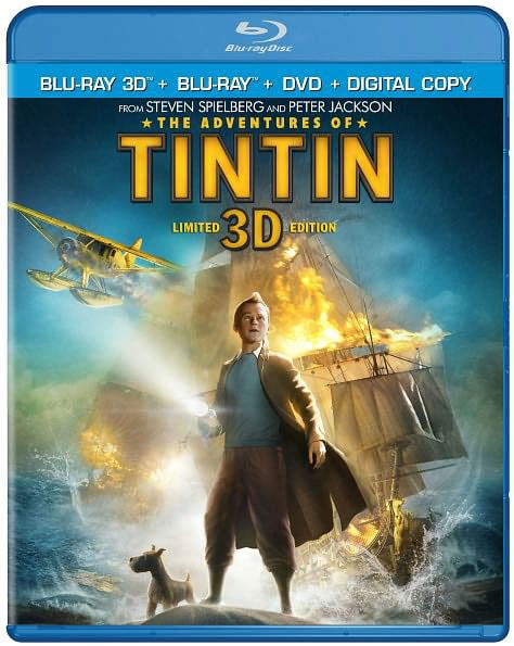 The Adventures of Tintin 3D (Blu-ray/DVD)