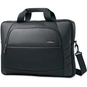 "Samsonite Xenon 2 Slim Laptop Briefcase for a 17.3"" screen- Black"