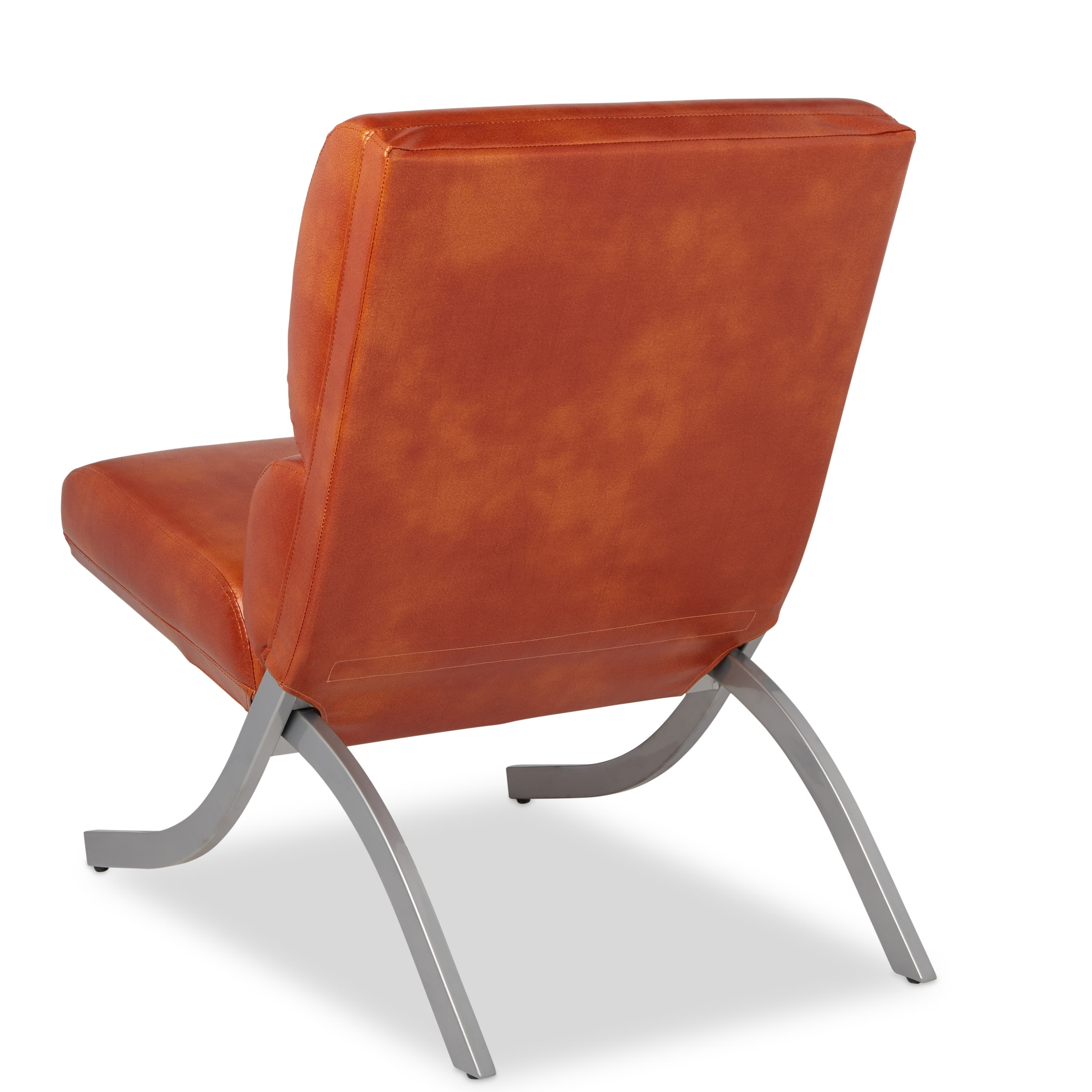 Rialto Rust Faux Leather Chair: Buy Living Room Chairs Online At Overstock