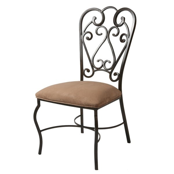 Magnolia Moccasin Suede Dining Chair
