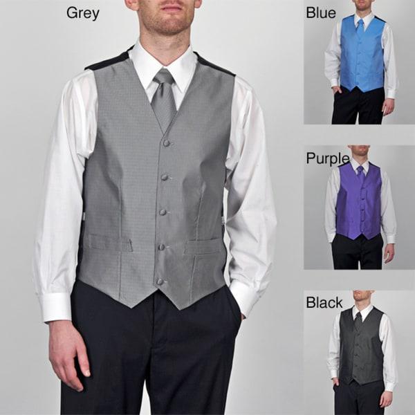 GianFranco Ruffini Men's 4-piece Vest Set