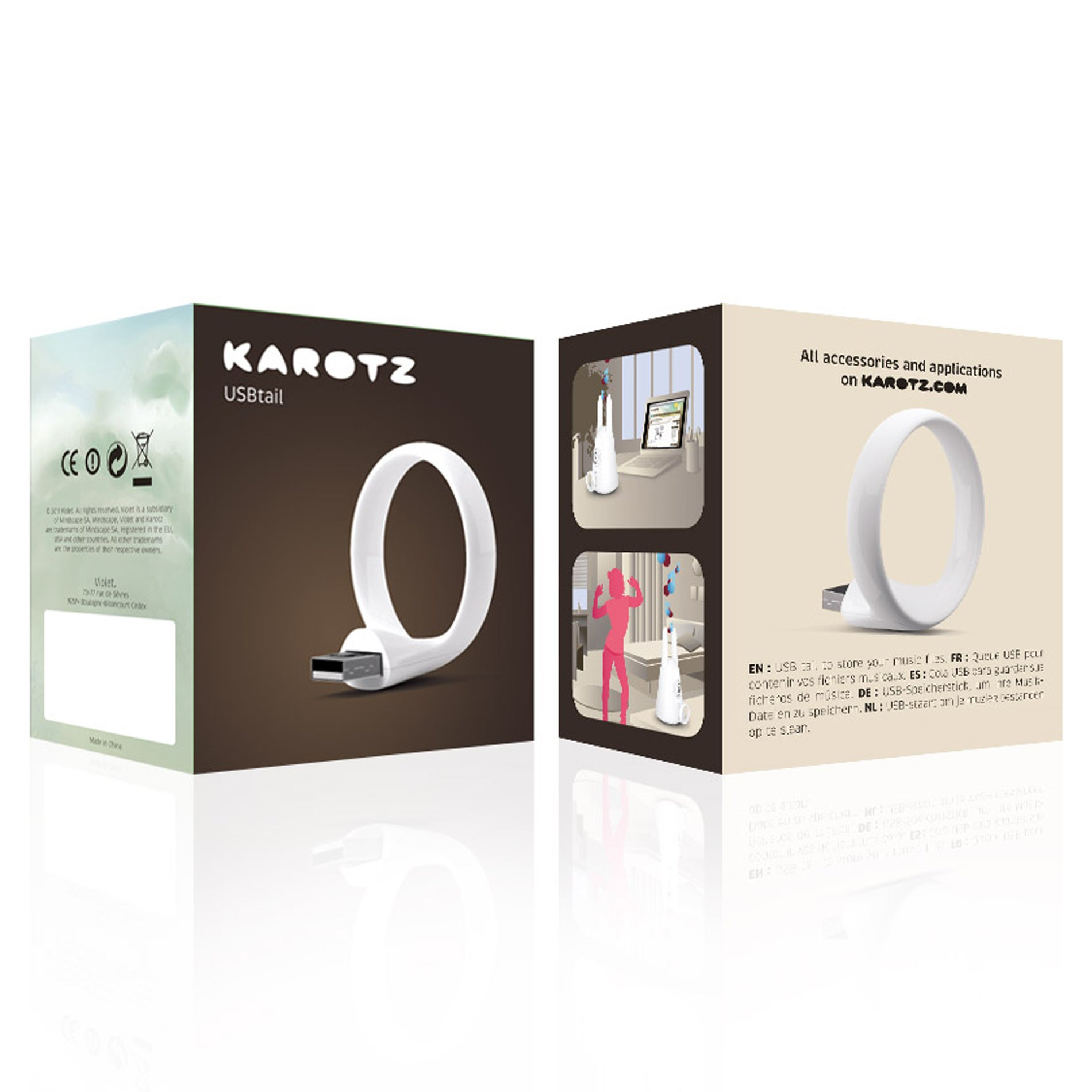 KAROTZ 4GB USB Tail Accessory - Thumbnail 0