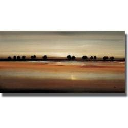 Lisa Ridgers 'Golden Plains' Canvas Art