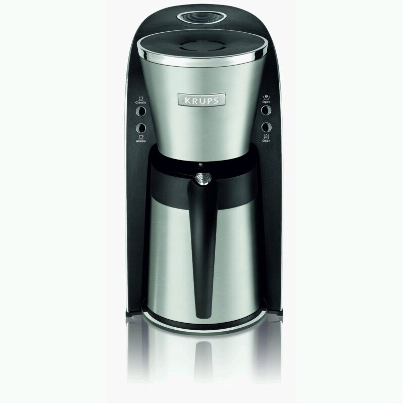 Krups 10-cup Black/ Stainless Steel Thermal Filter Coffee Maker