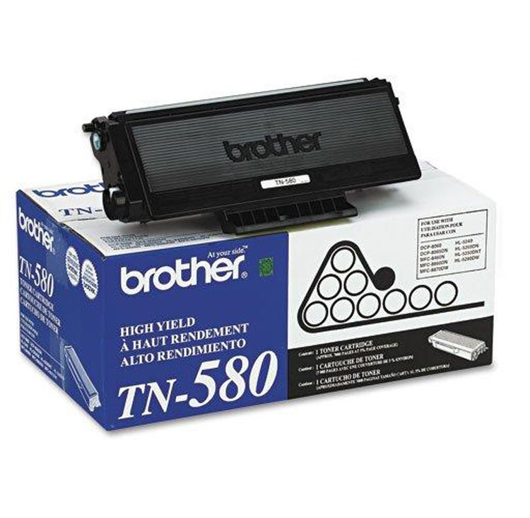 Brother TN580 Black Toner - Thumbnail 0