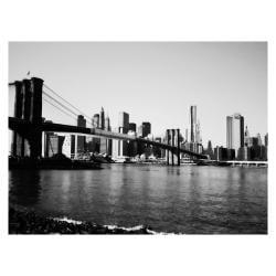 Ariane Moshayedi 'Brooklyn Bridge III' Medium Canvas Art