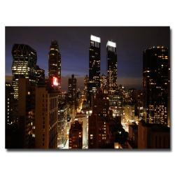 Ariane Moshayedi 'City Lights' Canvas Art