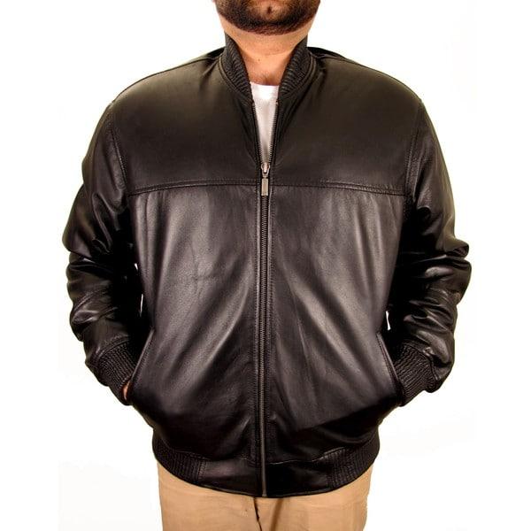 Hudson Outerwear Men's Black Leather Jacket