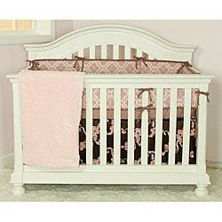 Cotton Tale Cupcake 4-piece Crib Bedding Set - Thumbnail 2
