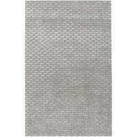 Silver Orchid Pradot Hand-tufted Solid Grey Wool Area Rug - 3'6 x 5'6