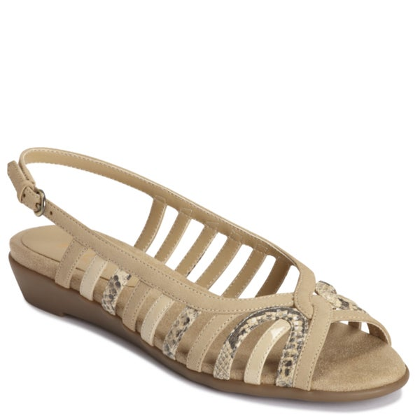 A2 by Aerosoles by Aerosoles Women's 'Charismatic' Tan Sandals
