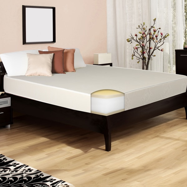Select Luxury Reversible Comfort Medium Firm 10-inch King-size Memory Foam Mattress