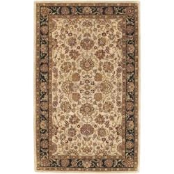 Hand-tufted Beige Addex Semi-Worsted New Zealand Wool Rug (3'3 x 5'3)